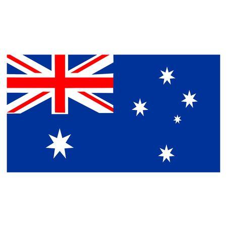 australia flags icon vector design symbol