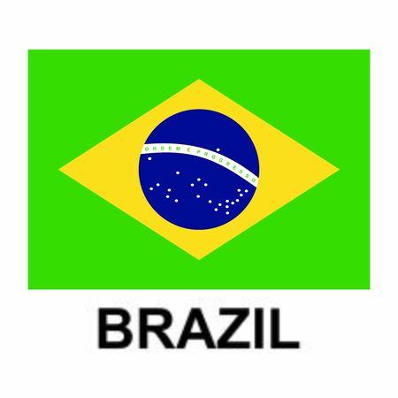 Brazil flags icon vector design symbol