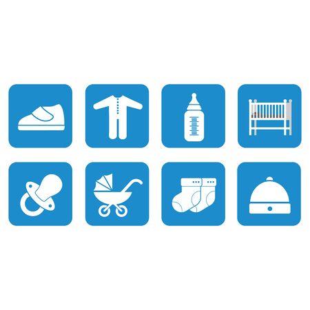 baby equipment icon vector design symbol