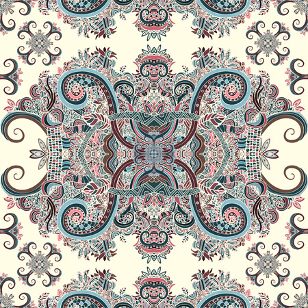 ethno: Boho ornament, texture. Ethnic ornamental floral. Abstract floral plant natural Seamless pattern. Vintage decorative elements. Hippie, Indian, fantasy, ottoman motifs. Textile print, Fabric design