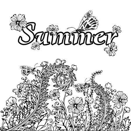 Fein Sommer Malbuch Seiten Bilder - Framing Malvorlagen ...