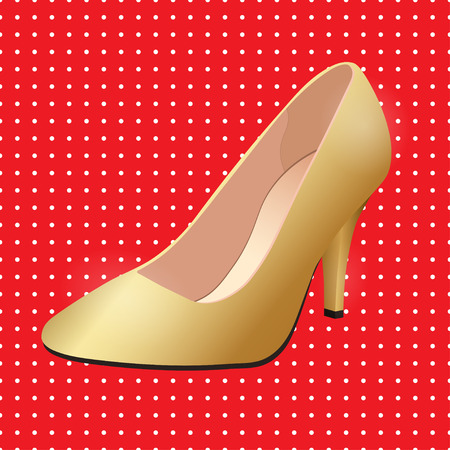 gold buckle: Vector shoes, womens gold classic boat shoe on high heel spike