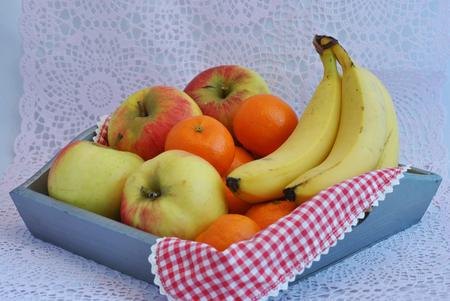 achill: old fruitplate Stock Photo