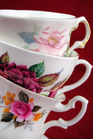 Classic kopje thee en koffie Stockfoto - 26271792