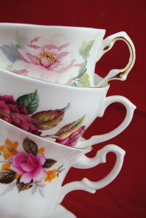 Classic kopje thee en koffie Stockfoto - 26271793