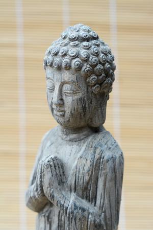 Close-up of a Buddha photo