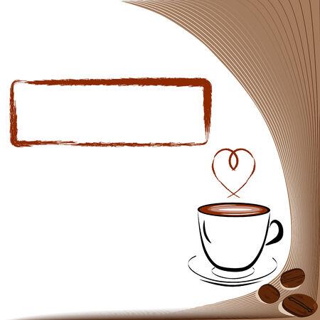 Taza de café Foto de archivo - 4450455