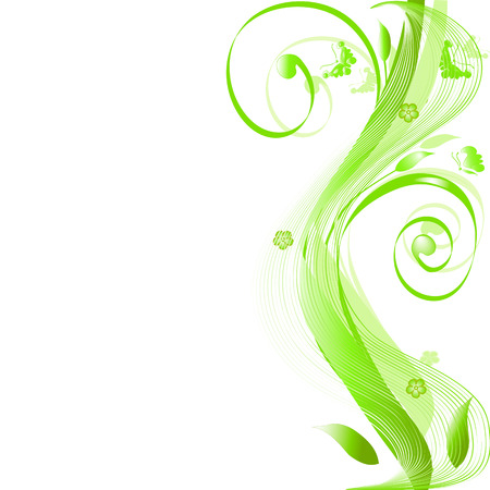 Abstracte appeltje silhouet, element voor ontwerp.