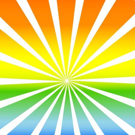 vector illustration of sunshine background