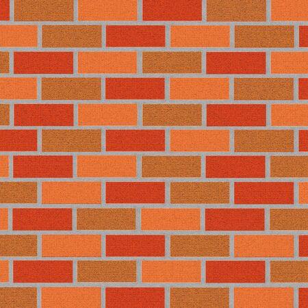 brickwork background. illustration Zdjęcie Seryjne