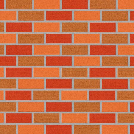 brickwork: brickwork background. illustration Stock Photo