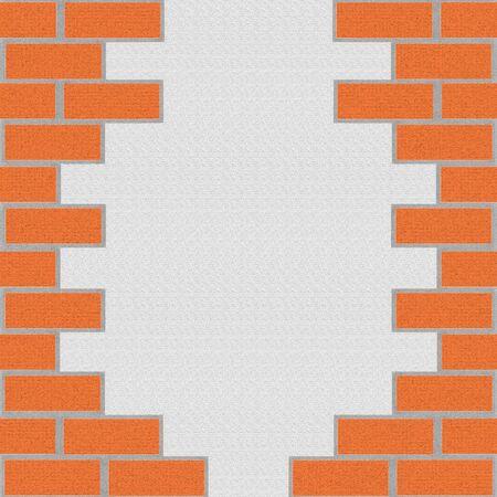 paredes de ladrillos: Fondo de ladrillo. Ilustraci�n  Foto de archivo