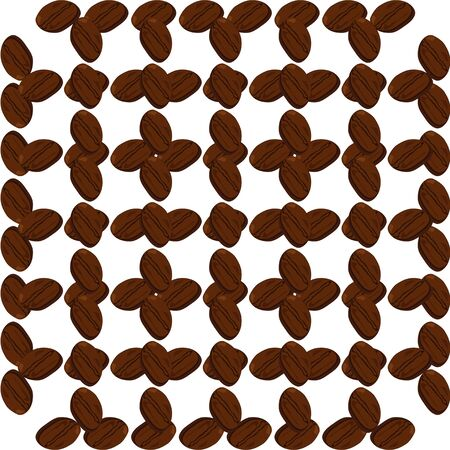Coffee background. vector