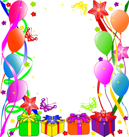 Happy Birthday background. vector Иллюстрация
