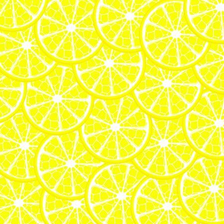 Vector illustration of lemon background
