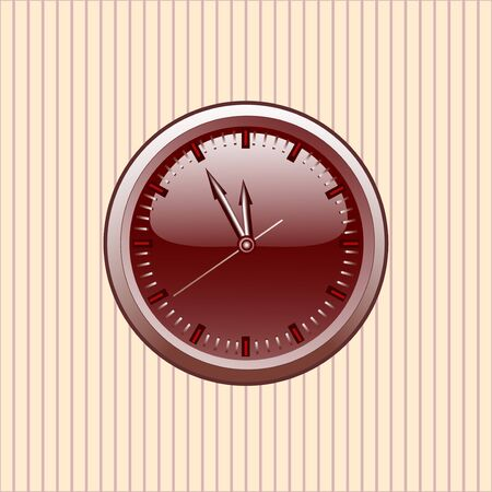 Office Clock.vector Çizim