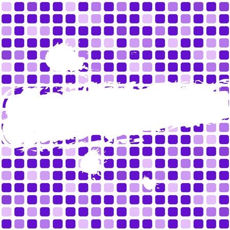 vector illustration of grunge mosaic background