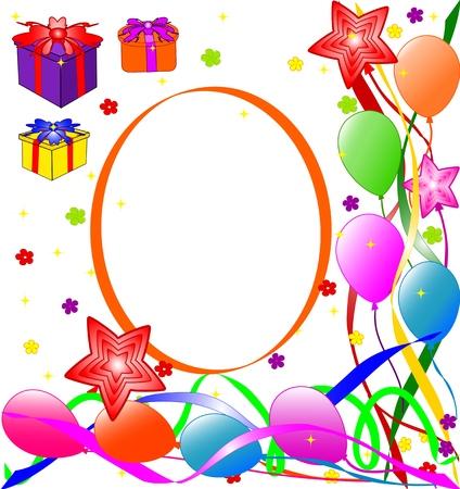 vector illustration of Happy Birthday background Vector
