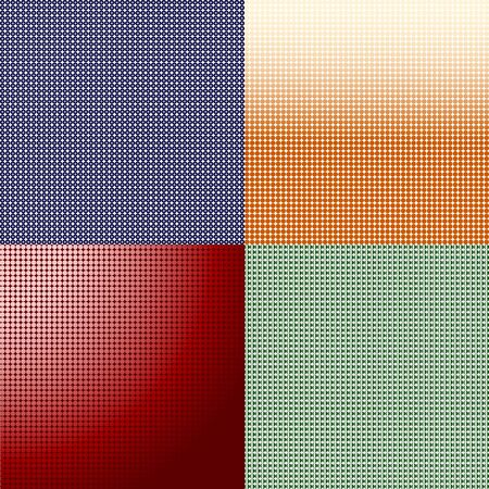 vector illustration of a set of dots background