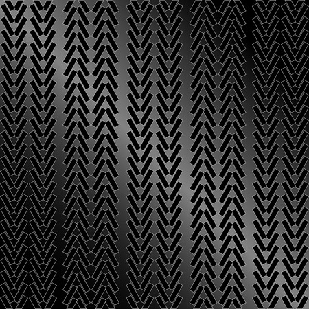 vector illustration of an abstract tire pattern Vector