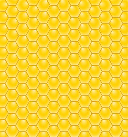 illustration of a honeycomb pattern Ilustração