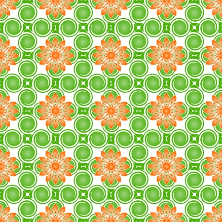 illustration of a  floral pattern Stock Vector - 7053849