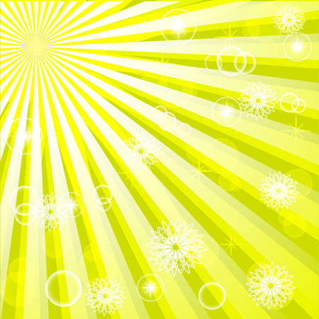 vector illustration of an abstract sunny background. EPS10 Vector