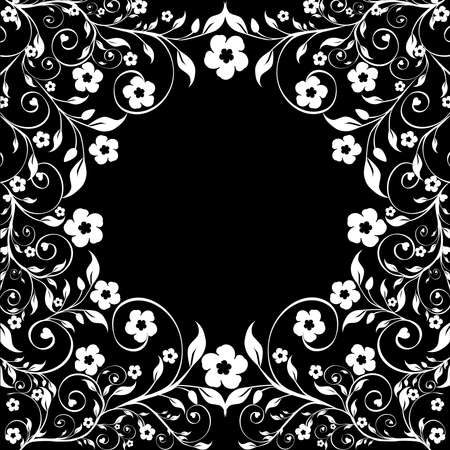 illustration of a floral ornament Stock Vector - 8717211