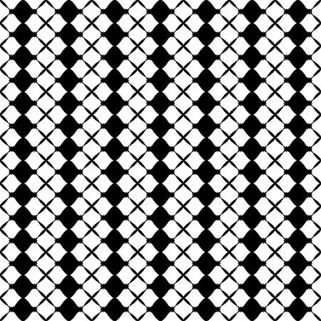 illustratie van een abstracte naadloze patronen op witte achtergrond