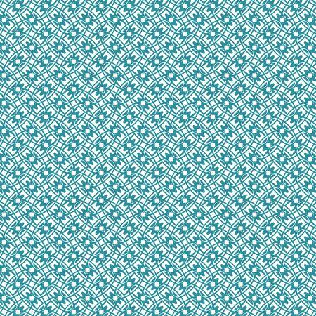 illustration of an abstract monochrome geometrical seamless pattern Ilustracja