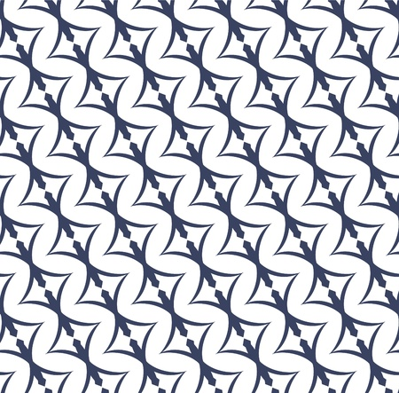 Vector illustration of an abstract geometrical seamless pattern.  Vector