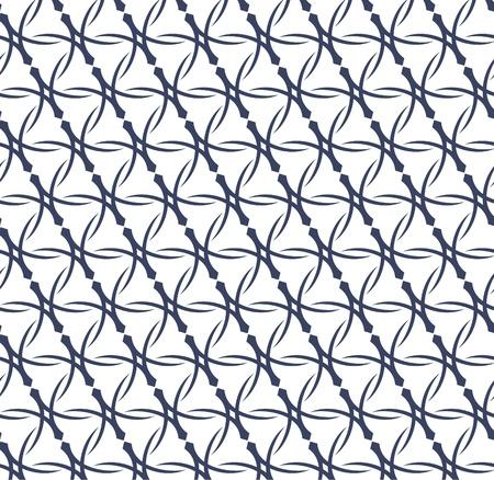 Vector illustratie van een abstract geometrische naadloos patroon.