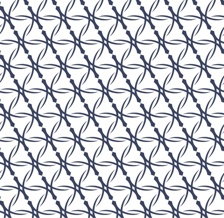 textiles: Vector illustration of an abstract geometrical seamless pattern.