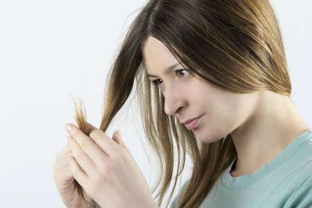 Damaged hair II Stock Photo - 12696974
