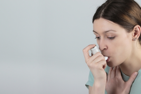 Asthma attack photo