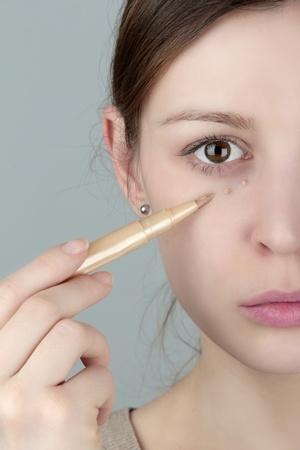 Under eye concealer  photo