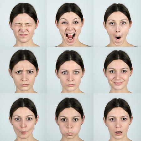 expresiones faciales: Las expresiones faciales