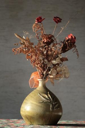 Dry floral decoration photo