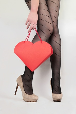 Valentine s day present Stock Photo - 13090209