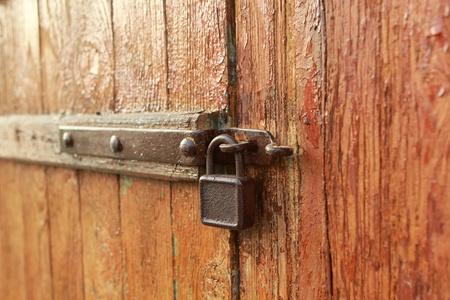 Old padlock II Stock Photo - 13139379