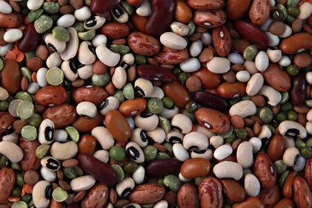lima bean: Beans background Stock Photo