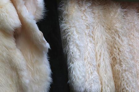 ashy: Fur background Stock Photo