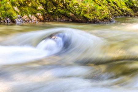 wen: Slovenia Wen Ortega Canyon waterfall Stock Photo