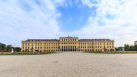 Vienna Schloss Schoenbrunn palace Editorial