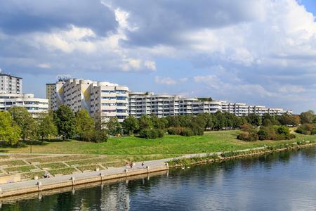danube: Vienna Danube scenery