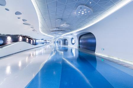 Unmanned modern underground passage