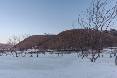 inner mongolia: snow scenery, Inner Mongolia