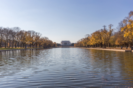 The Lincoln Memorial hall 報道画像