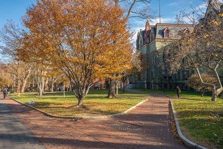 Campus scenery of University of Pennsylvania, Philadelphia, USA