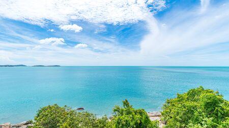 Natural scenery of Chaweng Beach, Koh Samui, Thailand